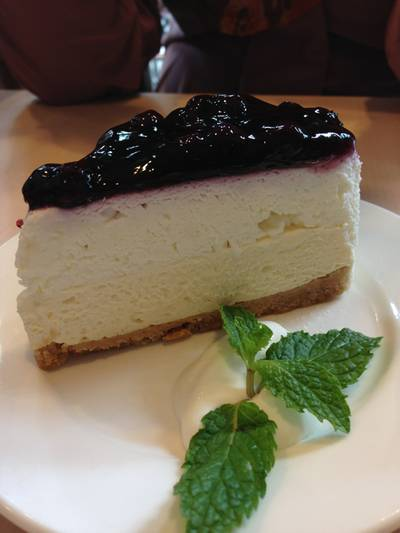 Blueberry Cheesecake   After You Dessert Cafe J Avenue