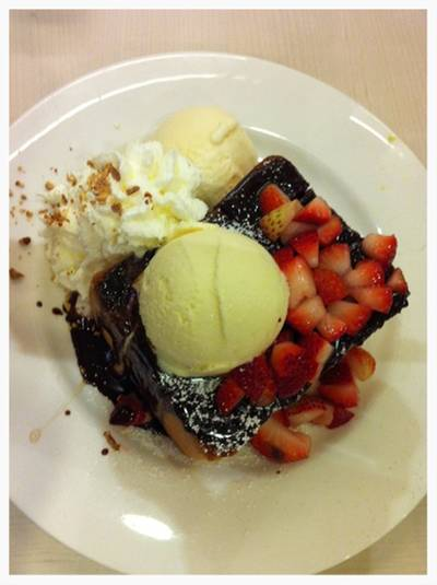 Stawberry &amp; Cream Toast   After You Dessert Cafe J Avenue