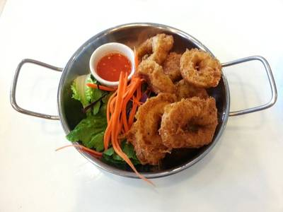 fried calamari 89        The Manhattan Fish Market Terminal 21