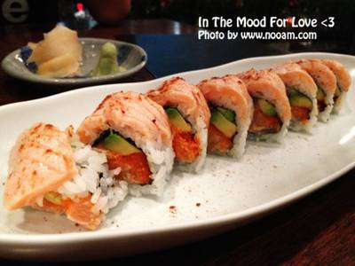 very salmon    In the Mood for Love: Sushi Bar &amp; Bistro