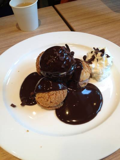 Cookie Choux ที่ ร้านอาหาร After You Dessert Cafe Crystal Park