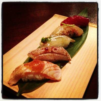 Omakase ที่ ร้านอาหาร In the Mood for Love: Sushi Bar & Bistro