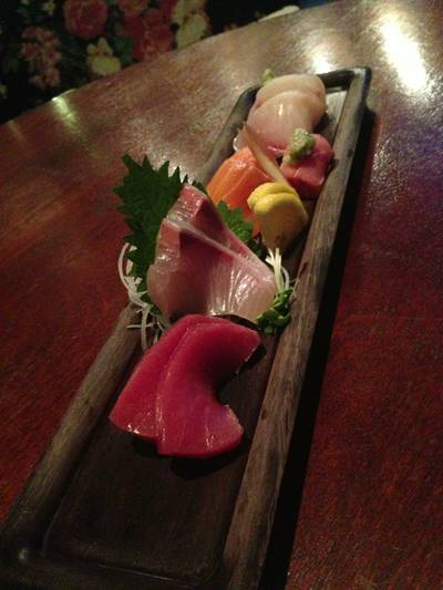 Sashimi Red ที่ ร้านอาหาร In the Mood for Love: Sushi Bar & Bistro