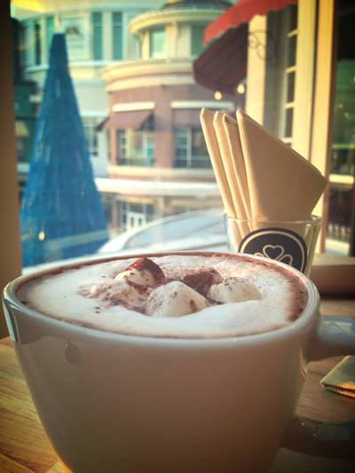Hot Chocolate ที่ ร้านอาหาร HAP de NOUS The Promenade