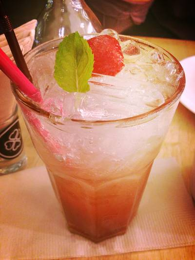 Strawberry Refreshing ที่ ร้านอาหาร HAP de NOUS The Promenade