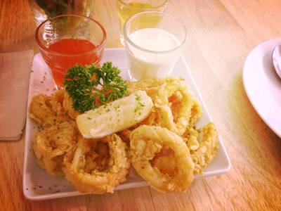 Calamari Fritti     HAP de NOUS The Promenade