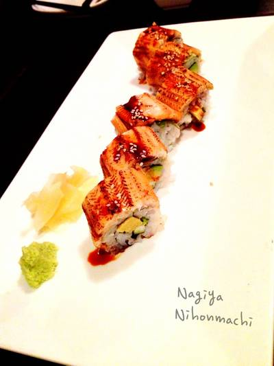 Anago Roll   Nagiya Nihonmachi
