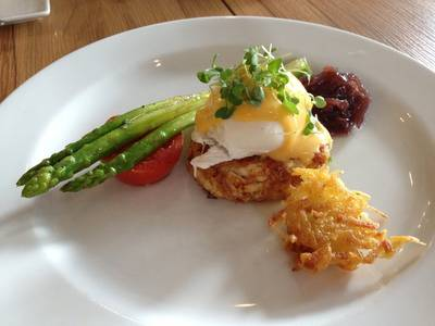 Egg benedict   Roast Coffee &amp; Eatery