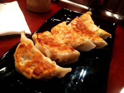 Gyoza   Bankara Ramen